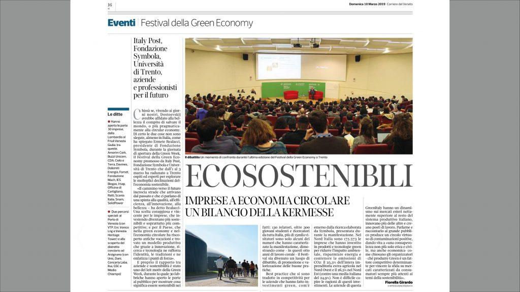 Vtp Calendario Navi.Ecosostenibili Imprese A Economia Circolare Un Bilancio